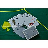 pvc塑料材质条码扑克牌宇华扑克厂供应