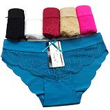 厂家直销现货冰丝无痕女士内裤速卖通热销现货女士三角裤内衣批发