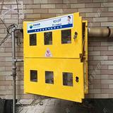 二排六表位燃气表箱玻璃钢天然气表箱计量器厂家直销
