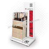 L型简单便携式瓷砖展架T503