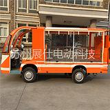 苏州南京无锡电动货车 平板拉货车 四轮运输车