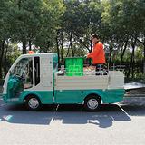 苏州无锡四轮电动垃圾运输车 马路清扫电动车 小区保洁车