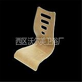 规格齐全,连体椅白胚,曲木弯板加工,锥形餐台脚定制