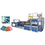 结皮板材生产线益丰塑机结皮板材生产线