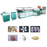 塑料发泡网套设备龙口云生包装机械西瓜塑料发泡网套设备