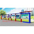 濮阳宣传栏制造厂家 广告灯箱制造 公交站台建设单位