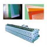 青岛木塑模板生产线木塑模板生产线益丰塑机多图