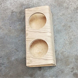 加工曲木宠物食品架,胶合弯板定制,天然环保