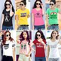 清仓低于3.8块女士短袖T恤批发杂款韩版女装短袖T恤批发库存T恤