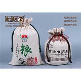 杂粮小米袋定制厂家 棉布杂粮袋来图定做