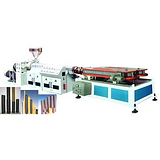 木塑建筑板生产设备厂家_木塑建筑板生产设备_益丰塑机多图
