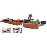 木塑建筑板设备厂家_木塑建筑板设备_益丰塑机多图