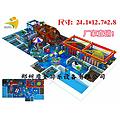 浙江省各大商场室内淘气堡新造型,深海迷城淘气堡100平米可以做吗