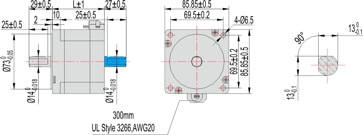 微型电动机价格_二相步进电机 □85mm 批发价格_深圳市