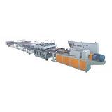 益丰塑机PVC模板生产线河北PVC模板生产线