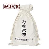 白酒棉布包装袋定制 绒布红酒包装袋厂家