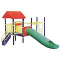 组合儿童滑梯_中卫儿童滑梯_鲁达体育多图