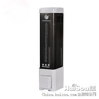 手动皂液器系列 1011A(白色)单头皂液器 卫生间皂液盒