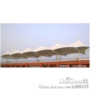 通化市膜结构停车棚 张拉膜车棚 艺丰膜结构工程有限公司