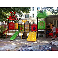 山东儿童组合滑梯 泰安幼儿园专用玩具 幼儿园用品生产厂家