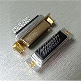 24+5夹板式母座DVI连接器