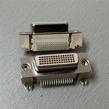 60pin弯脚母座DVI连接器
