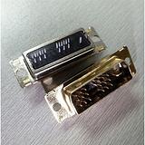 18+1直插式公头DVI连接器