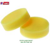 黄色缓冲透气海绵垫片