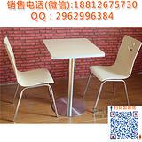 天津不锈钢食堂餐桌 4人位组合快餐桌椅厂家 轩木鑫家具厂直销