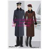 男士飞行员长款大衣订做 机长冬季大衣 安检站工作员呢子大衣