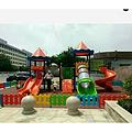 供应石家庄幼儿园滑梯、组合滑梯、大型玩具、幼儿园设备