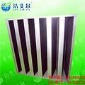江苏V型高效活性炭过滤器305×305×292工厂报价 包邮