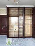 长沙原木家具厂优质服务、原木隔断、平开门订做优质服务
