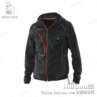 电热发热服|电热马甲|电暖衣服|电热外套|KUBEAR电暖服—S