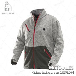 冬季电暖加热服|电暖服|电加热服装|KUBEAR发热服装—PS