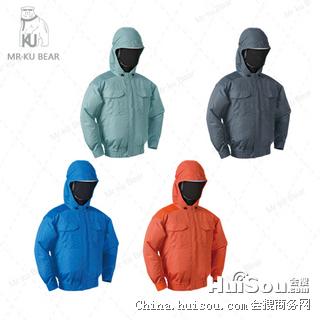 防暑降温空调钓鱼服|降温空调防暑服|KUBEAR酷熊空调服—S