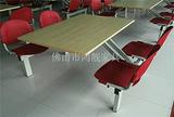 学校食堂餐桌椅生产厂家,工厂饭堂餐桌椅,塑钢餐桌椅,餐厅家具