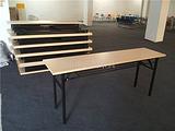 折叠桌生产厂家,折叠会议桌,折叠台架,条形广告桌,展会招聘桌