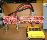 宁夏中卫双头半自动火焰气割机价格 电动钢板切割机 五金割圆机