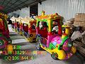 广东新款游乐设备无轨小火车儿童王国生产