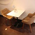 上海原木冰淇淋店椅子/甜品店椅子/餐椅定做
