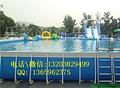 2017水上游乐项目大型支架游泳池 支架水池浮具价格