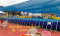 蓝色支架水池游泳池 儿童PVC水池框架游泳池加工定制
