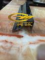 U形不锈钢踢脚线条鄂州市不锈钢线条金属制品图