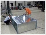 汉沽镀锌风管天津通风工程选捷维诺公司镀锌风管厂家