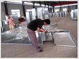 天津通风工程选捷维诺公司北辰镀锌风管螺旋镀锌风管