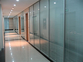 办公双玻玻璃百叶隔断 单玻固定隔断厂家就在南宁兆拓