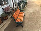 广东广州户外休闲椅定制厂家 公园椅铸铁 公园椅图片素材