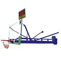 篮球架_鲁达体育质量上乘_篮球架供货商