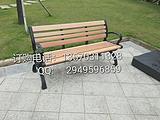 珠海槊木公园椅 铸铁脚加槊木公园椅 户外长条椅座椅